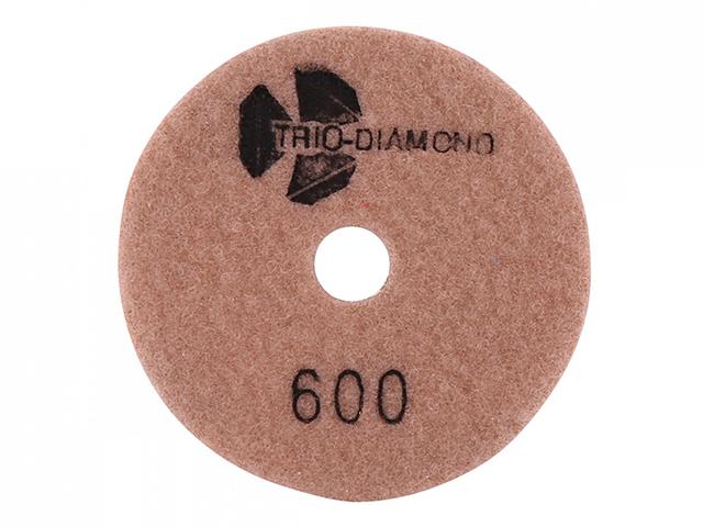"""Алмазный гибкий шлифкруг """"Черепашка"""" 100 № 600 (мокрая шл.) (TRIO-DIAMOND)"""
