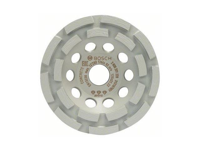 Алмазная чашка 125х22 мм по бетону двурядная BEST FOR CONCRETE BOSCH (для быстрого шлифования)